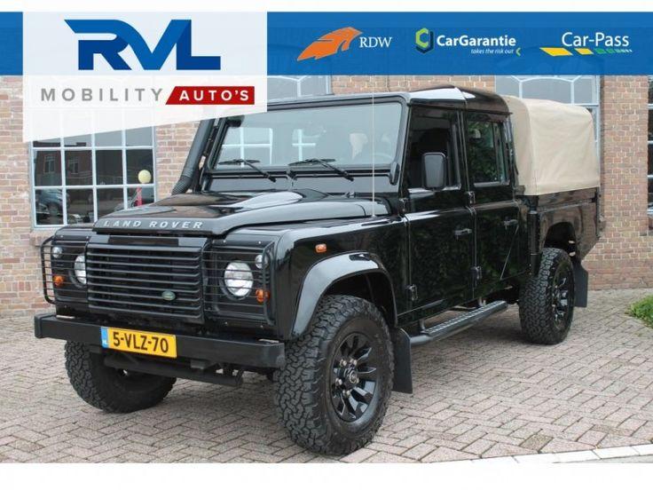Land Rover Defender  Description: Land Rover Defender 2.4 TD 130'' S Crew Cab Grijskenteken 2011 SLECHTS 88.916km Airco Stoelverw  Price: 593.61  Meer informatie