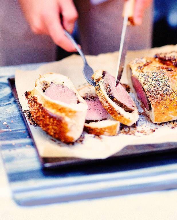 Bœuf en croûte de pain pour 6 personnes - Recettes - Elle