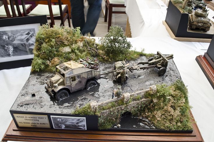 158 best unusual diorama images on pinterest military for Scale model ideas