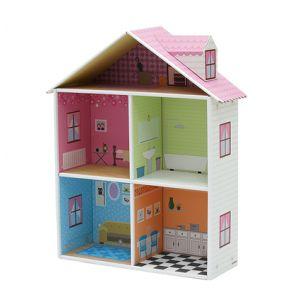 Mellrose Dollhouse Her küçük kız çocuğunun sahip olmayı hayel ettiği bu muhteşem güzellikdeki oyun evinde, çocuğunuz ,kendine özgü trendi ve rengarenk mobilya setleriyle saatlerce oynamak isteyecek.   #krooom #oyuncak