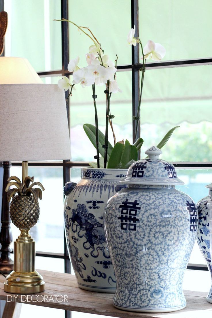 374 best Blue White Decorating images on Pinterest Blue and