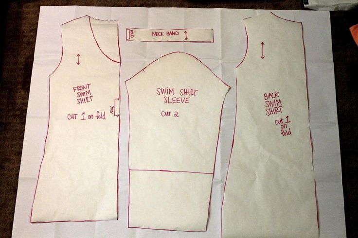 how to sew a women 39 s rash guard swim shirt swim shirt tutorial and tutorials. Black Bedroom Furniture Sets. Home Design Ideas