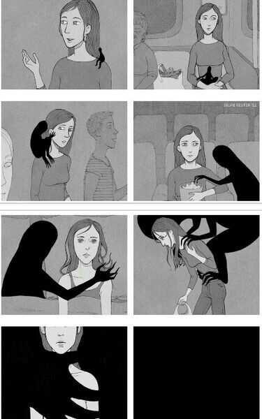 Depression, every day the burden gets a little heavier. Nobody can take it away. It steals your joy. It's always there.