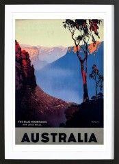 australia1 - Framed Premium Poster