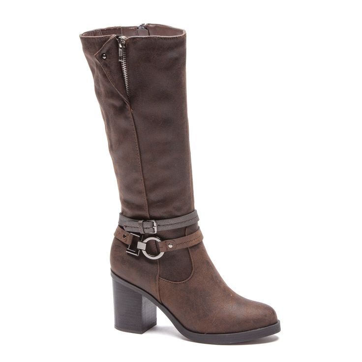 The Paloma Rossi Addison Knee-High Boots feature an almond-shaped toe, an inside zip and buckle or zip detailing on the upper with a leather sock composition for extra comfort.