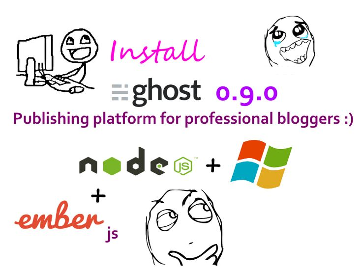 #TUTORIAL: Install #Ghost 0.9.0 on Windows ( localhost ) - #nodejs blogging platform  Ghost is a free and #opensource blogging platform written in #JavaScript ( node.js ) and distributed under the MIT License, designed to simplify the process of online publishing for individual bloggers as well as online publications. #CodingTrabla Tutorial