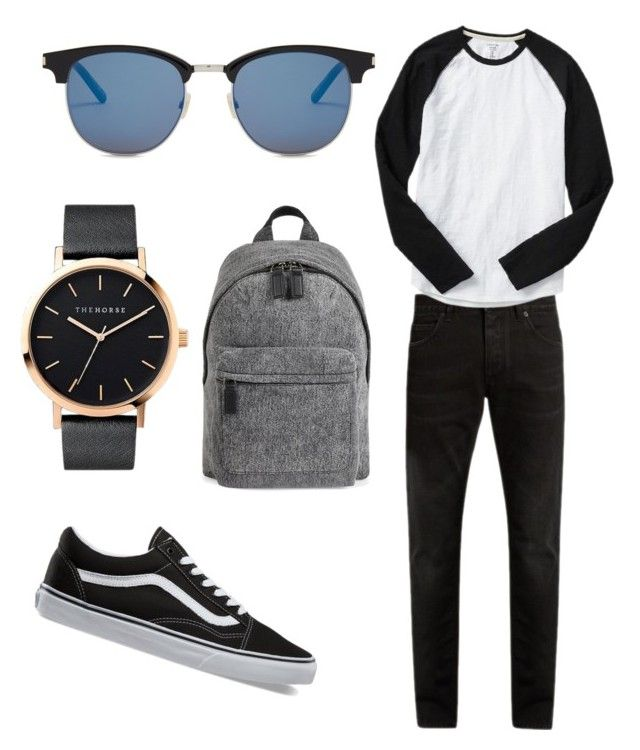 """""""Men style 😊"""" by brigike-toth on Polyvore featuring Dolce&Gabbana, Gap, Vans, The Horse, Yves Saint Laurent, Marc Jacobs, men's fashion and menswear"""