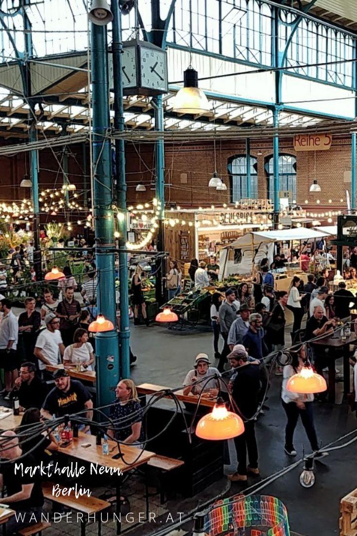 Die Markthalle Neun in Berlin Kreuzberg ist ein ec…