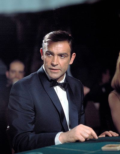 You cannot do evening wear better than Bond: Thunderball, Sean Connery, 1965