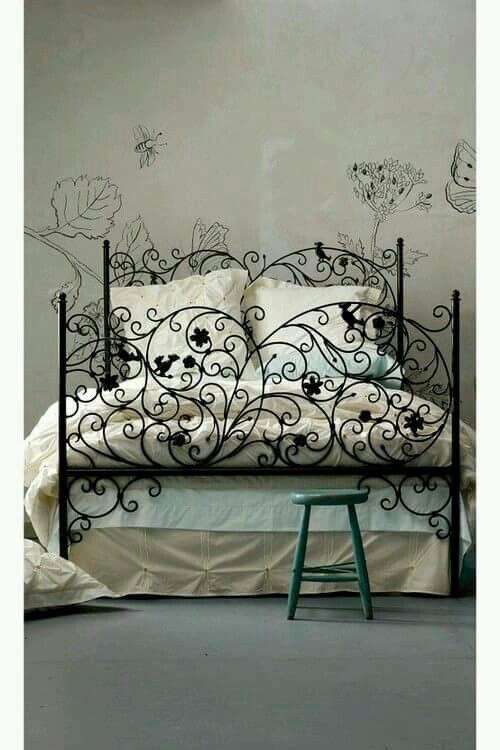 Mejores 91 imágenes de muebles y artículos en hierro en Pinterest ...