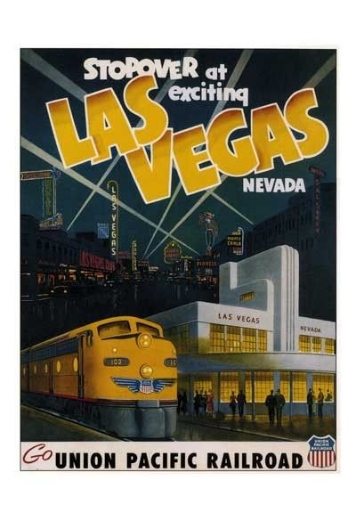 Las Vegas ▪ Union Pacific Railroad  (1950s)