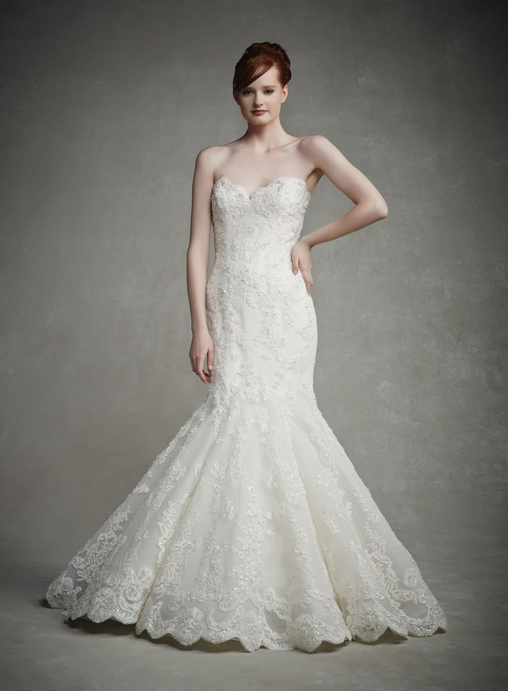 One of our beautiful dresses at Evas Bridal International www.evasonlagrange.com