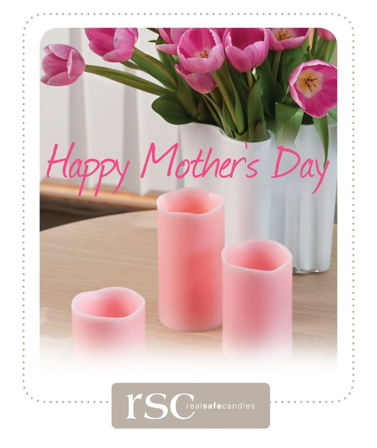 A big shout out to all the Mums. We hope you have a Happy Mother's Day #realsafecandles #flamelesscandles #mothersday