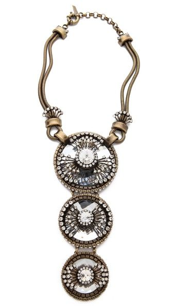 Auden Atlantis 3 Station Necklace