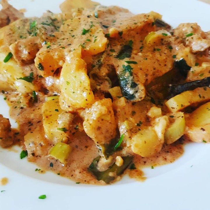 Hähnchen-Kartoffel Auflauf 1
