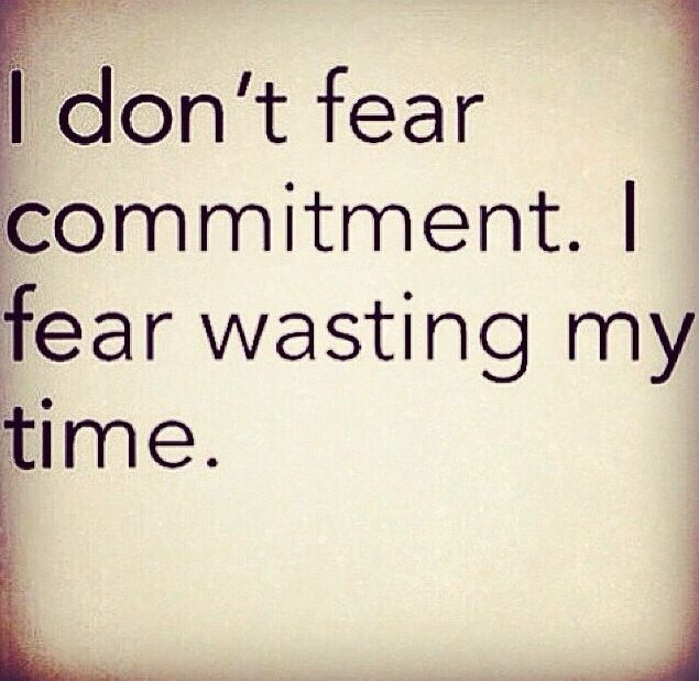 how to handle fear of commitment in a relationship