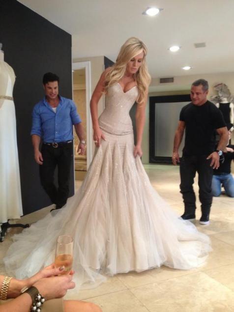 Beautiful Mark Zunino wedding gown!