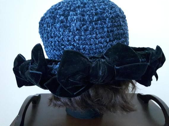 Women's Bucket Hat Crochet Hat Formal Hat