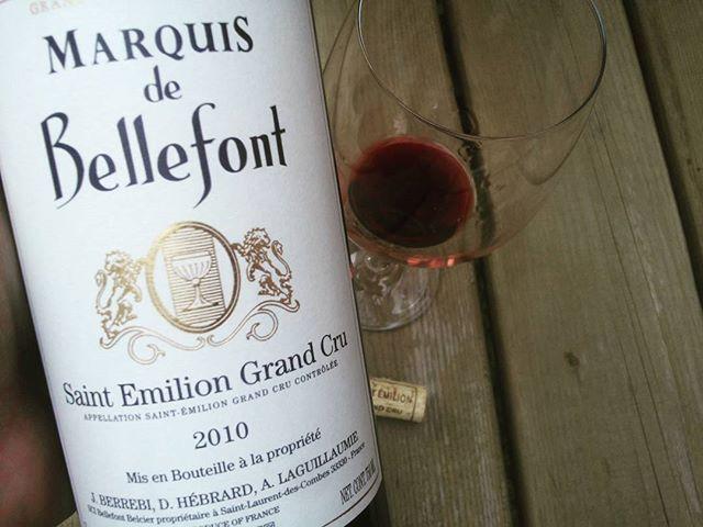 Coup de cœur ! magnifique #millesime 2010 #vin #bordeaux #saintemilion grand cru mature et une belle jeunesse , mais enc...