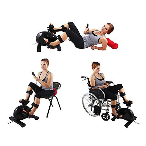Special Offers - Konliking Electric Physical therapy Rehabilitation Exerciser Bike indoor Recumbent Pedal Exerciser Desk Bicycle Workout Upright Bike Equipment Hand Arm Foot Leg Knee Training At Home 180 watt Power Review - In stock & Free Shipping. You can save more money! Check It (January 23 2017 at 05:03AM)…