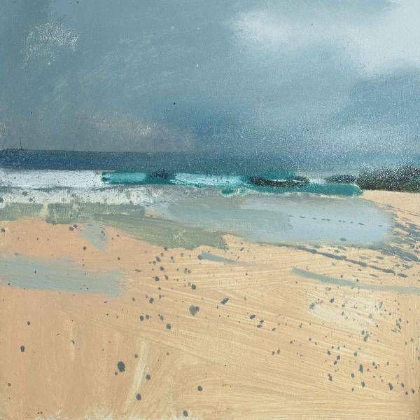 Rain On the Way - Porthmeor | Lucie Bray