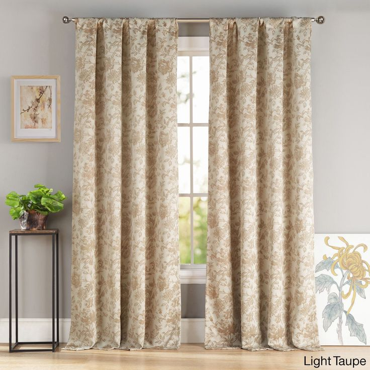 duck river katy blackout poletop curtain panel pair set of 2