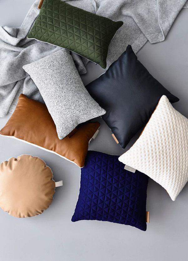 Tab and Kumo pillows