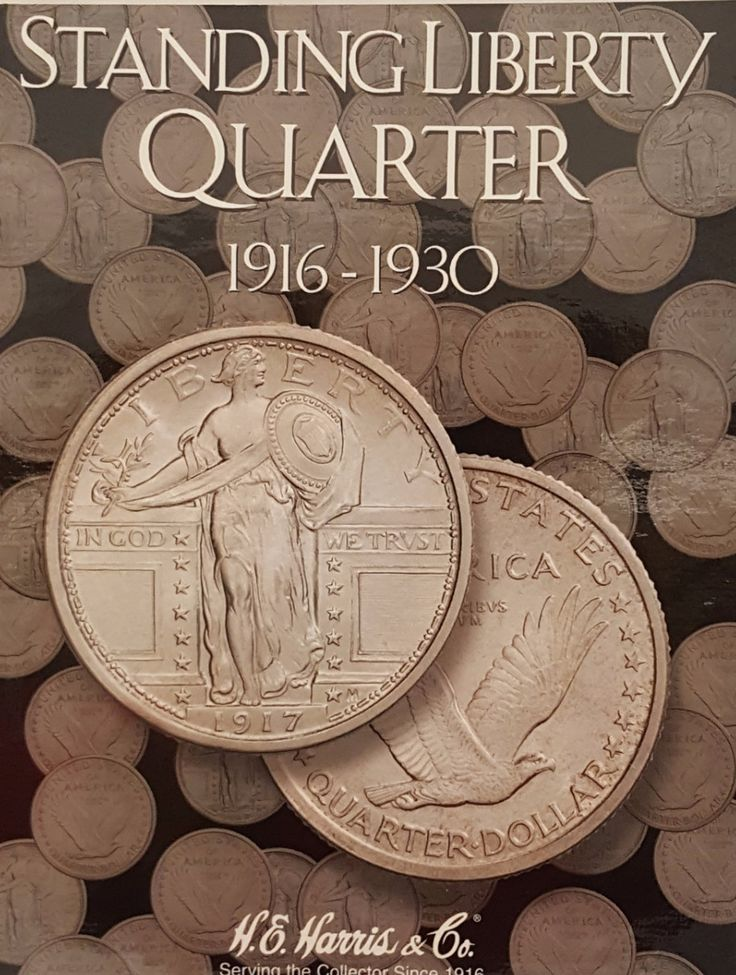 Standing Liberty Quarter 1916-1930 Coin Collecting Album