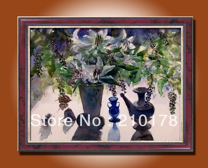 Ручная роспись маслом картина цветы натюрморт нефть-картины на холсте Декоративная живопись маслом РБ (3)