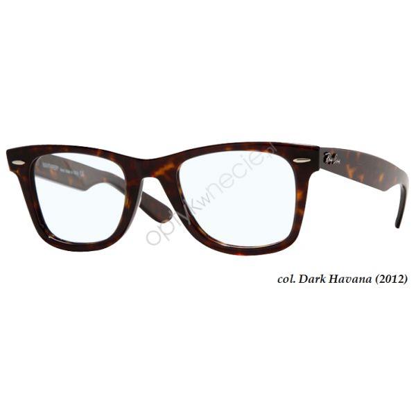 #Okulary korekcyjne #RayBan:: Original #Wayfarer rb 5121 col. 2012 dark avana