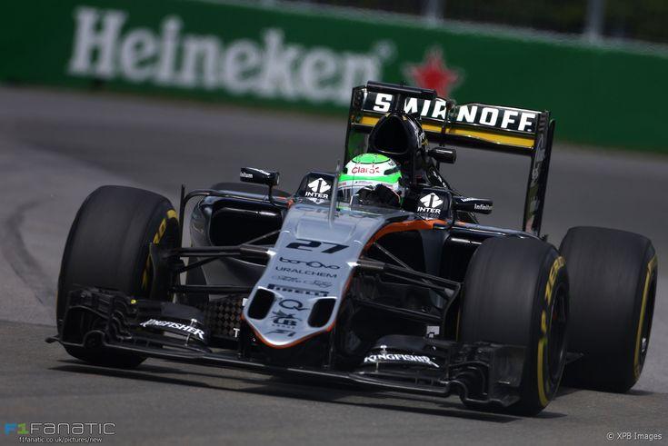 Nico Hulkenberg, Force India, Circuit Gilles Villeneuve, 2016