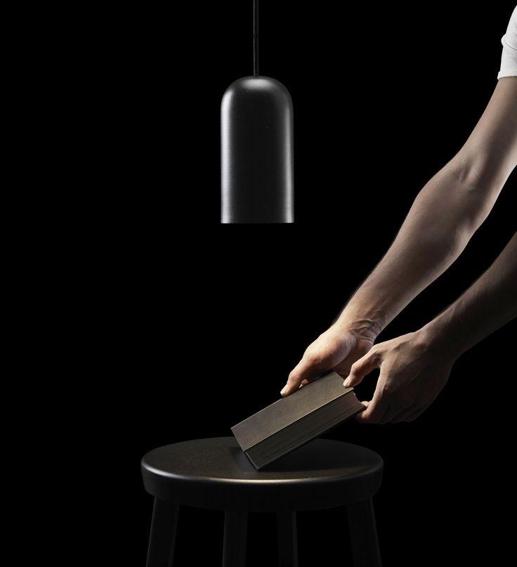 BOW floor | lamp collection designed by david dolcini STUDIO for tossB #detail #tossB #lamp #lighting #totalblack #metal #minimal #design #daviddolcini #daviddolcinistudio