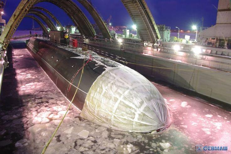 Neues Atom-U-Boot der Borei-Klasse