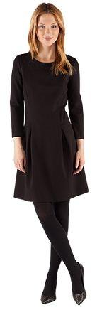 Robe patineuse unie | Robes | Comptoir des Cotonniers