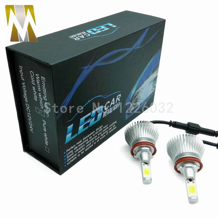 New 2 Pcs Car Styling Auto Headlights H8 H9 H11 Car Led Lamps replacement Kits H7 H1 H3 H4 9005 9006 880/881 White 6000K. Yesterday's price: US $40.00 (32.93 EUR). Today's price: US $20.00 (16.50 EUR). Discount: 50%.
