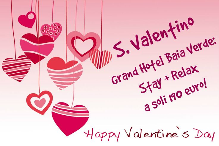 #Pacchetto #SanValentino 2015: Stay + Relax ad € 190 a coppia #ValentineDay #Offer 2015: Stay + #Relax for only € 190,00 for two