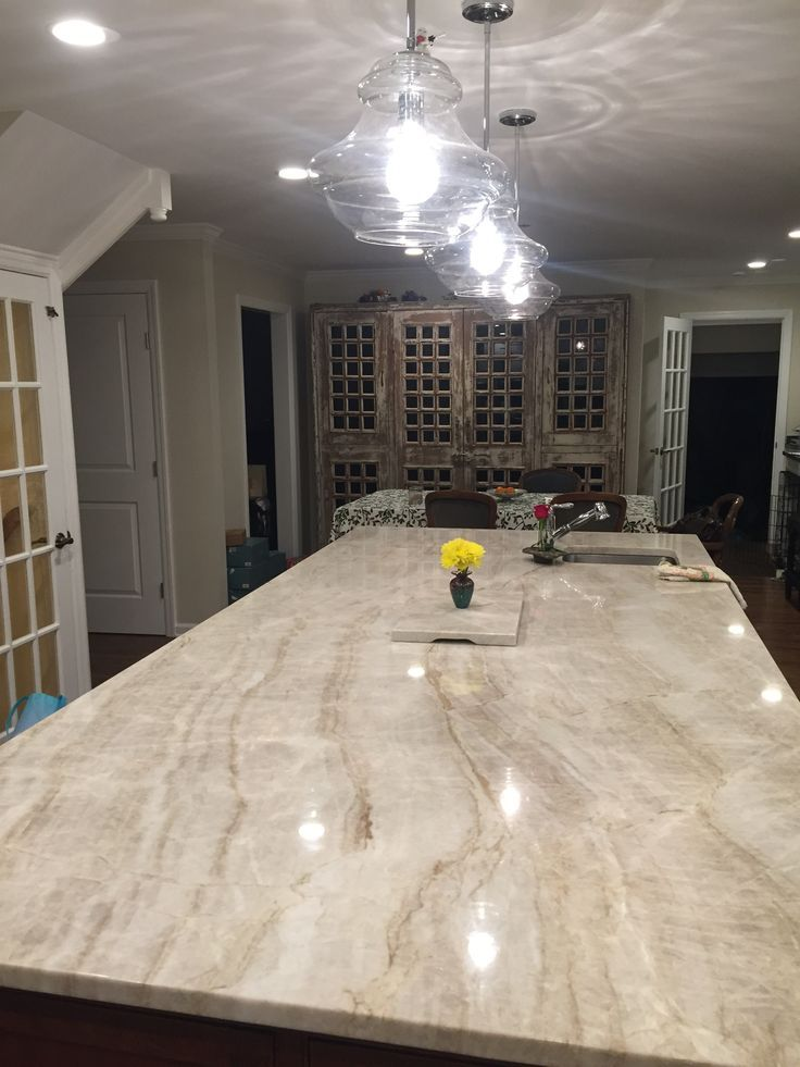 Taj Mahal 10 Island Kitchen Remodel Countertops