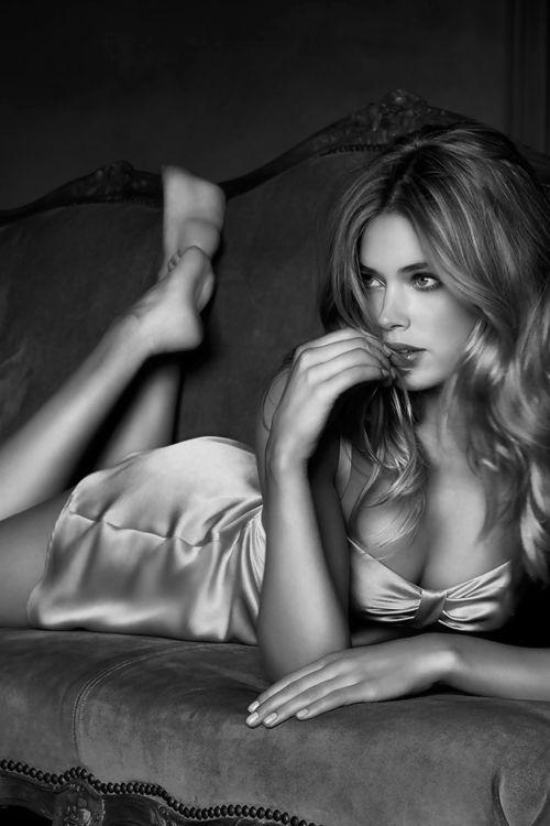 silky evening boudoir