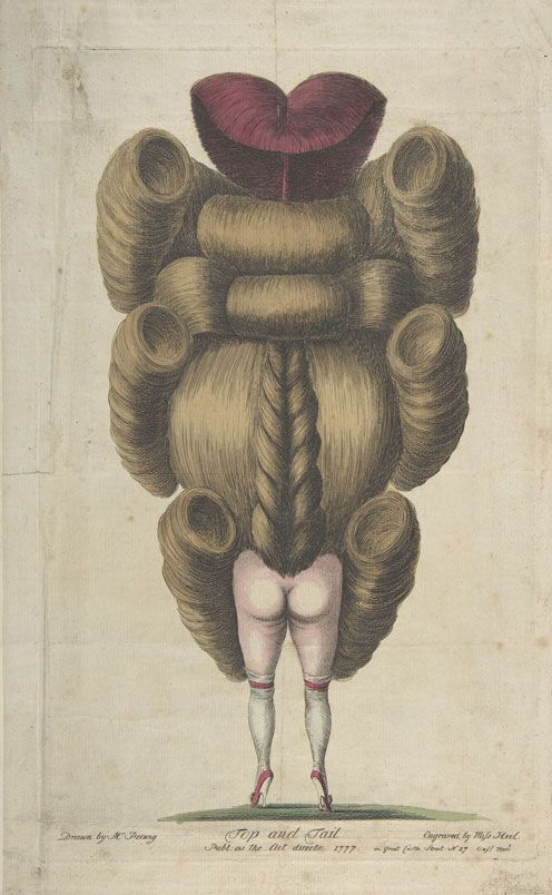 The Two Are but One (Les Deux Ne Font Qu'un), Anonymous (French), Hand-Coloured Etching, circa 1791.