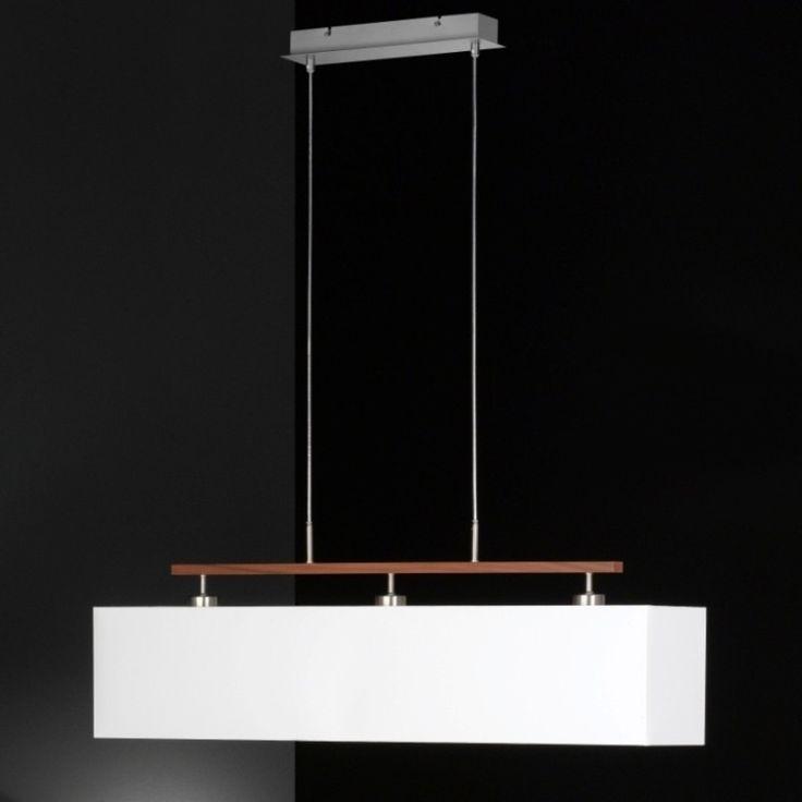 Diese moderne und kostengünstige Hängeleuchte eignet sich hervorragend für Ihren Esszimmertisch und Wohnzimmertisch. #Hängelampe#Pendelleuchte#Weiß#Lampe#Honsel