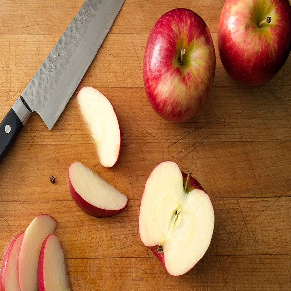 how to keep apples from browning overnight