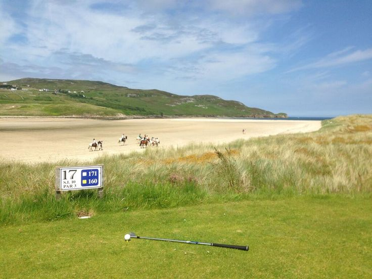 17th tee at Dunfanaghy Golf Club #Donegal