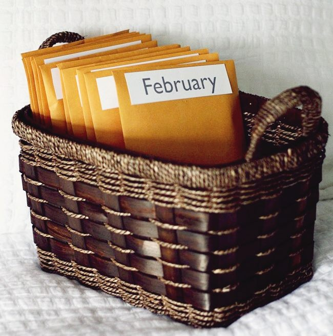 """Great idea! 12 Prepaid, preplanned """"Date Nights"""" as a wedding gift! You can include gifts like restaurant vouchers, movie tickets etc"""