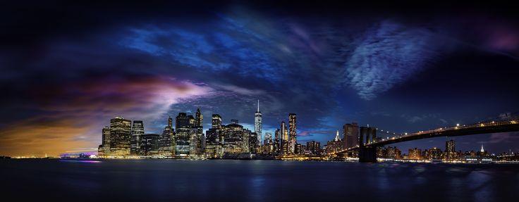 New York Skyline from Brooklyn 001 - null