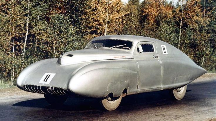 These vehicle designs look like they were made for a Batman movie, or maybe a space adventure. They're the direct result of the futurist bent in Soviet design. And some of them are just insane. We've got a gallery.