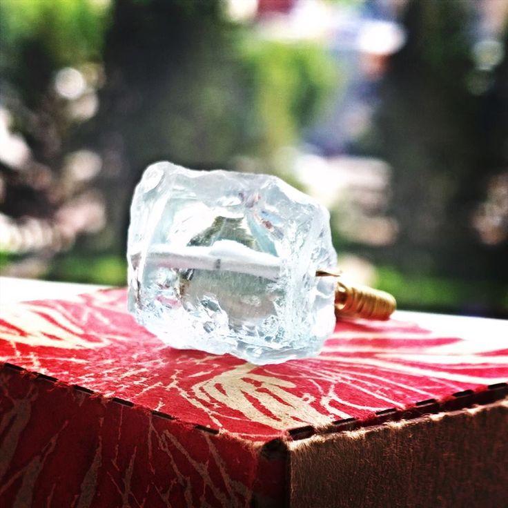"""Кольцо, голубой кварц, ювелирный сплав, размер 17,5, коллекция """"Путешествие"""", Украшения со всего света... OlgaJW"""