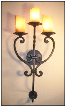 sconce 031 Uniqueironlighting.com