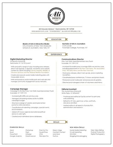 17 best images about Misc design on Pinterest Resume templates - two page resume examples