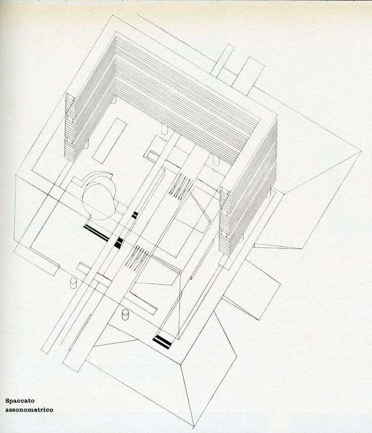 Gian Ugo Polesello, Aldo Rossi, Luca Meda. Casabella 278 1963: 49 | RNDRD