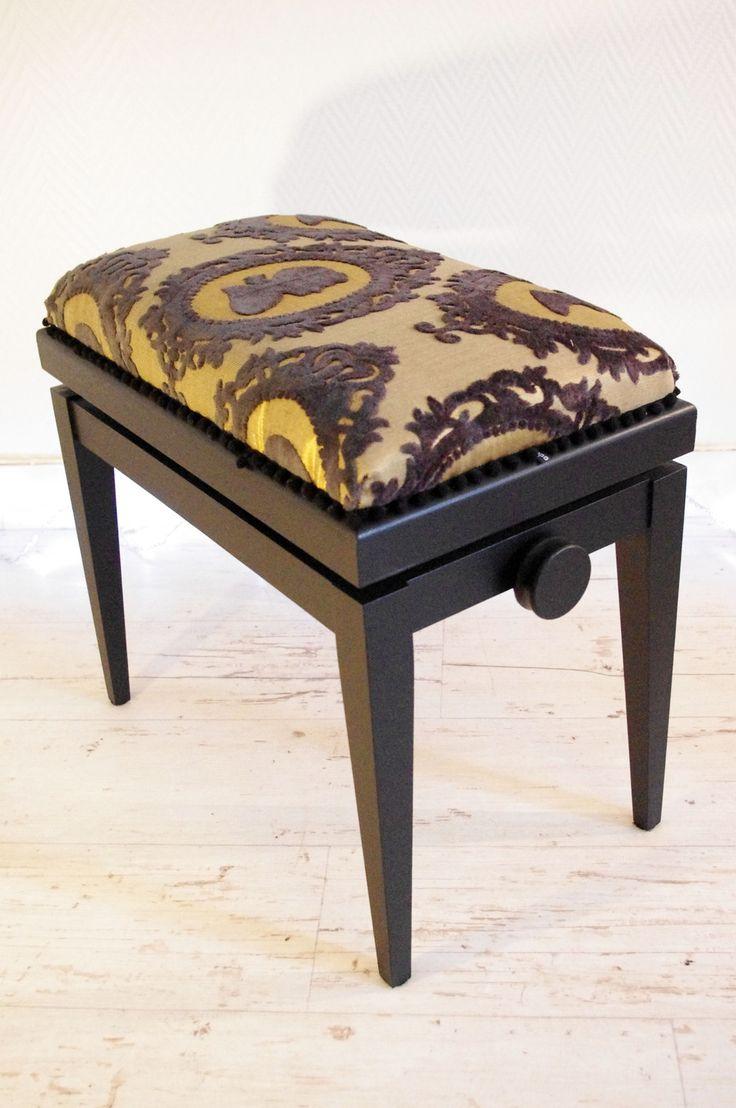 les 10 meilleures id es de la cat gorie tabouret de piano sur pinterest d coration de piano. Black Bedroom Furniture Sets. Home Design Ideas